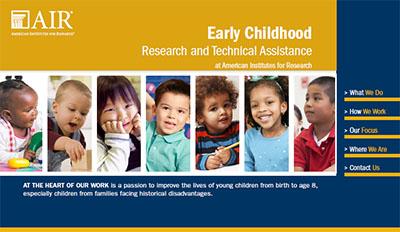 Early Childhood brochure